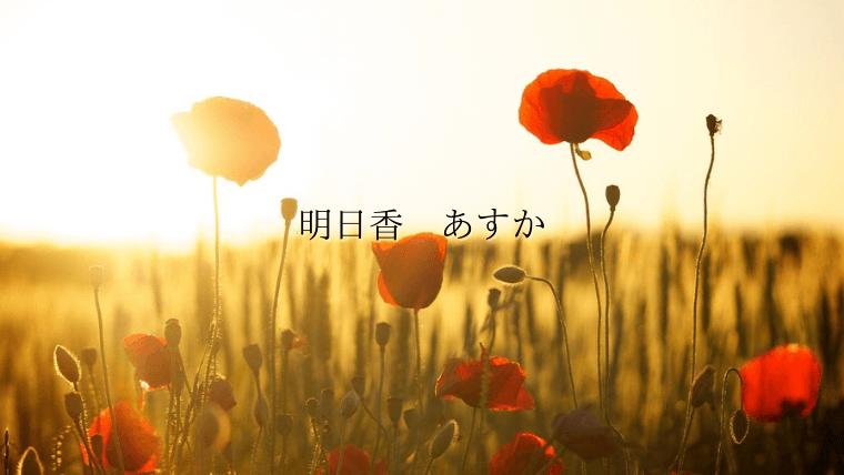 orangecoler flower asuka